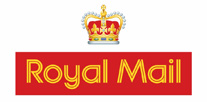 We ship with Royal Mail